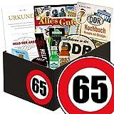 Geschenk Idee für echte Ossi Männer zum 65. - DDR Paket Männerbox |