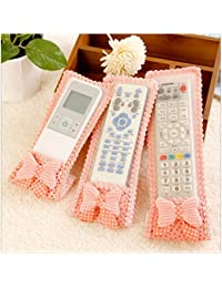 EasyBuy India 3PCS Set Household Sorting Organizers Dustproof TV Remote Control Case Air Condition Remote Control...