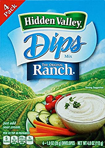 Hidden Valley - Original Mix Trempettes Ranch - 1 oz - 4 Count