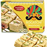 Bogatchi Traditional Soan Papdi Premium Gift for Diwali Celebrations, 400G