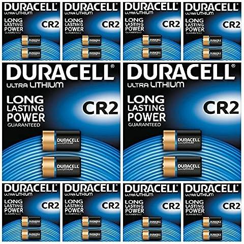Lot de 20 piles Duracell Ultra Pile 3 V Lithium CR2 Photo-PK-EL1CR2–CR15H270