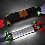 buffalo electric skateboard 36 pollici di duplice controllo motorio...