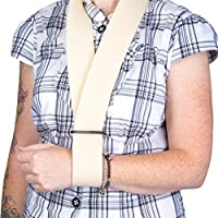 Adjustable Foam Arm Sling - Universal Size Broken/Sprained Muscle/Shoulder/Elbow