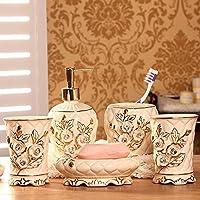 Cinque pezzi di lusso bagno in ceramica suite Bagni di