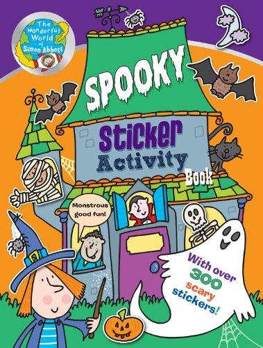 Spooky Sticker Activity Book: The Wonderful World of Simon Abbott