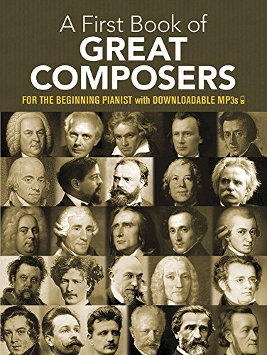 First Book Of Great Composers 26 Themes -For Easy Piano-: Noten, Sammelband für Klavier (Dover Music for Piano) (Alfred Klavier Fingersatz)