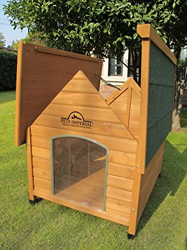 Pets-Imperial-Medium-Wooden-Sussex-Dog-Kennel-With-Removable-Floor-For-Easy-Cleaning-B