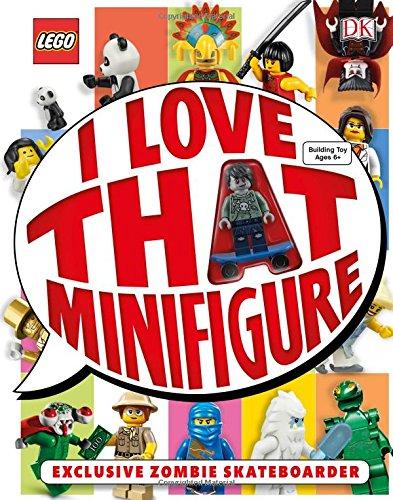 Lego: I Love That Minifigure por DK