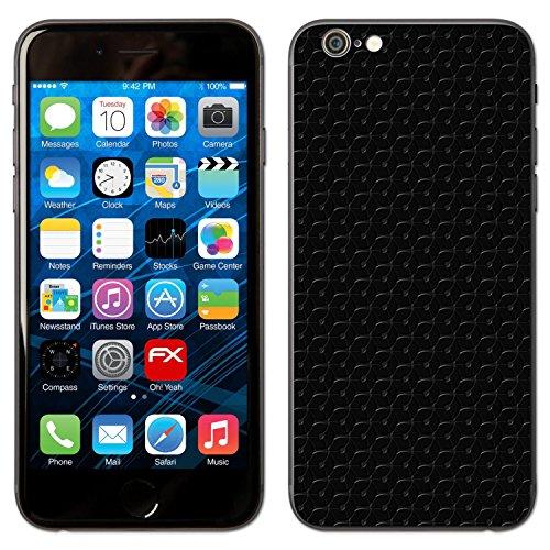 "Skin Apple iPhone 6 ""FX-Leather-Black"" Sticker Autocollant FX-Honeycomb-Black"