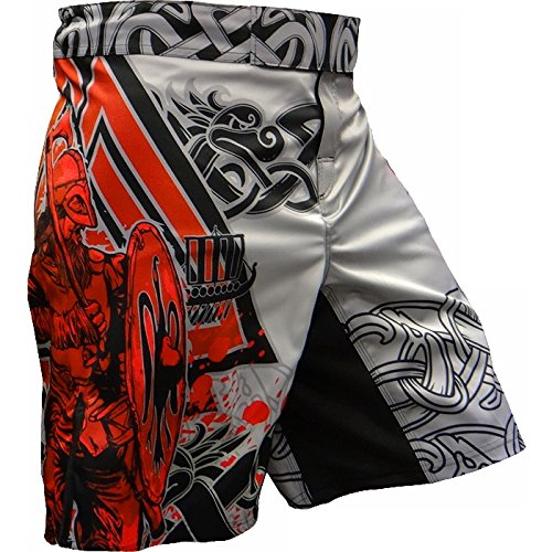 Hardcore Training Shorts Viking 2.0 - Men - MMA UFC Cage Fight Grappling-XL Kampfsport Boxen Kurze Sport -