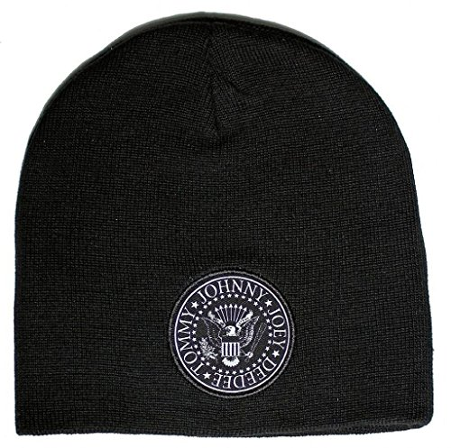 Ramones Presidential Seal Logo Double Sided Beanie
