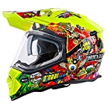 Casque Motocross Oneal 2017 2Series Multi (L , Jaune)