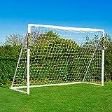 FORZA 3m x 2m Futsal But de Foot avec Système de Verrouillage - But de Foot Futsal de Qualité Supérieure pour Les Jeunes [Net World Sports]