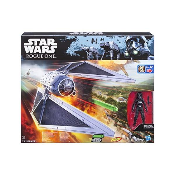 Star Wars Rogue One - Set con Figura, vehículo y Dardos Nerf Tie Striker (Hasbro B7105EU4) 2