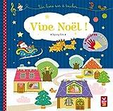 Vive Noël - livre sonore à toucher: Un livre son à toucher