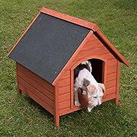 Caseta de perro de madera para exteriores XL