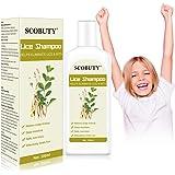 Läuse Shampoo,Anti läuse,Kopfläuse Shampoo,Anti-Läusebehandlung Verhindern Sie Kopfläuse Juckende Kopfhaut Shampoo für…