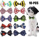 Legendog Haustier Krawatte Netter Bowknot Sortierte Farbhund Fliege Katze Haustier Kragen Krawatte