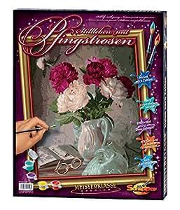 Schipper - 609130558 - Still Life with Pentecost roses - Tableau à Dessin - Taille 40 x 50 cm
