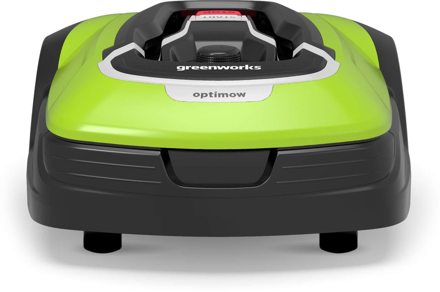 Greenworks Mähroboter Optimow 10 mit App (2505507) für 1000 qm Fläche