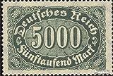 Prophila Collection Deutsches Reich 256 1922 Ziffern Ergänzungs-Werte (Briefmarken für Sammler)
