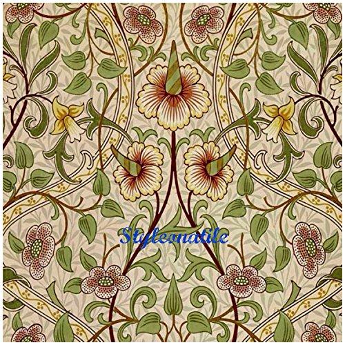 beautiful-art-and-crafts-william-morris-daffodil-flower-design-108mm-425-ceramic-tile-coaster-mat-re
