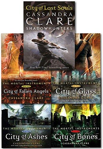 Cassandra Clare Mortal Instruments 5 Books Collection Pack Set RRP: 42.95 (C... (Mortal Instruments Set)