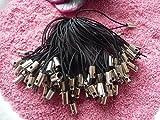 25 Handyschlaufe Handyband Handyschmuck Handyanhänger schwarz 50 mm