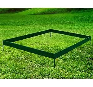 Base de fondation pour serre de jardin en acier 250x250cm 6,25 m²NEUF 99