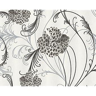 A.S. Creation 93531-5 - Chicago Zambezi Estampado Leopardo Pintado Floral