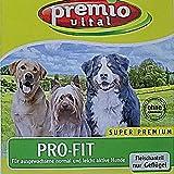 Premio Vital Pro Porcentaje de Fit | maíz + Arroz | Carne solo Aves l| Saco de 15kg, perros trockenfutter