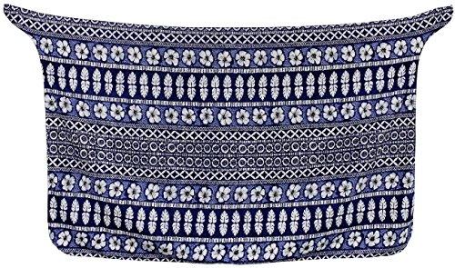 Knoten Sarong / eingebaute Verbindungen greifen coverup Bikini Badeanzug Badeanzug Bademode Blau