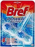 Bref Bloc Nettoyant WC Power Activ Océan 50 g - Lot de 3