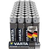 Varta Power On Demand AAA Micro Batterijen (Geschikt Voor Computeraccessoires, Smart Home-Apparaten Of Zaklampen), 40 Stuks