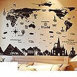 Bomeautify Adhesivos de pared fondos de escritorio universitarios albergues creativo decoración póster de papel de baloncesto dunk Adhesivos deportivos de la NBA pinturas murales mapas Egipto cintura de Tailandia