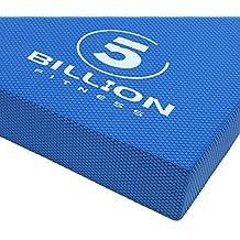 5BILLION Cuscino Equilibrio Balance Board - 49cm x 39cm x 6cm - Esercizio Pad & Foam Addestratore Dell'equilibrio - Pad di Equilibrio per la Riabilitazione, la Reazione, la Stabilità e la Mobilità