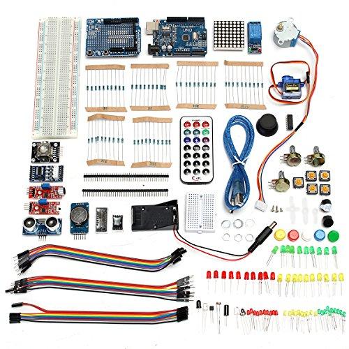 Preisvergleich Produktbild Bluelover Ultimatives Uno R3 Starter Mit Stepper Servo Motor Relais Rtc Kit Für Arduino