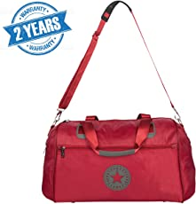 3G Campus Series Travel Duffle Bag 18 inch (2 Years Warranty !!!) (Red)