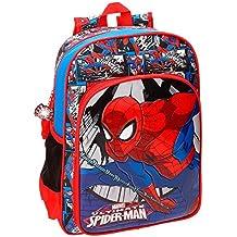 Spiderman 2162361 Comic Mochila Escolar, 38 cm, 13.22 litros