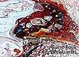 Guest Book dei Pensionati: La possibilità di un collega di condividere i migliori auguri e storie esilaranti   Libro degli ospiti   Album astratto di pittura astratta per la pensione
