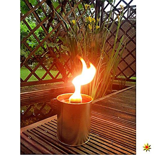 Partyfeuer - Gartenfackel 5 Std. Brennzeit als Flammenschale auch zum Anzünden von Fackeln … (1)