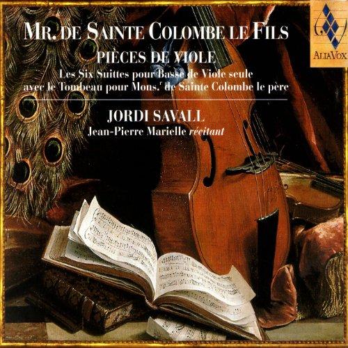 Mr. De Sainte Colombe Le Fils - Pièces De Viole