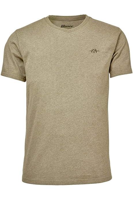 118010-013//555 Blaser Polo Shirt Hemd Herren Olive