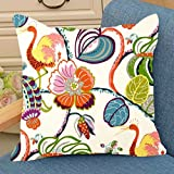 #5: Aart Floral Designer Cushion Cover 16*16