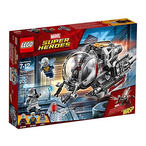 LEGO Marvel Super Heroes erforscher del cuántico Unido (76109) Cooles Niños Juguete