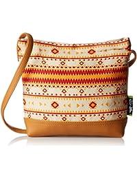 Kanvas Katha Women's Sling Bag (Multi-Colour) (KKSAMZJAN003)