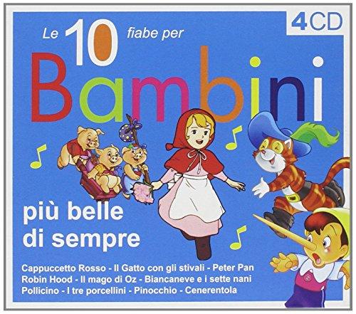 10 Fiabe per Bambini Piu' Belle (4 CD)