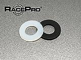 Race Pro - 100x Tough M3 De Nylon Negro De Arandelas De Plástico Estándar ISO