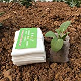 New Nursery Pots Seedling-Raising Bags 8*10cm fabrics Garden Supplies Environmental Protection Full All Size 100pcs-pack jt021