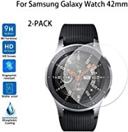 2-PACK Tempered Glass Screen Protector For Samsung Galaxy Watch 42mm